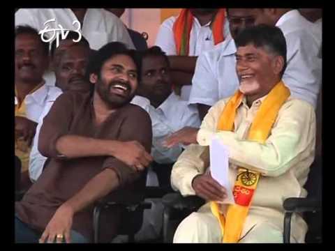ChandraBabu And Pawan Kalyan Shared Same Stage