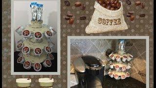 DIY Kcup holder using Dollar Tree items