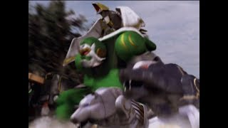"Power Rangers Wild Force - Kongozord vs Samurai Org | Episode 21 ""A Father's Footsteps"""