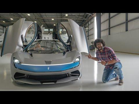 The $2.5 Million, 1,900 Horsepower Pininfarina Battista Hypercar is NEXT LEVEL!