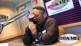 Sana G Interviews Kendrick Lamar