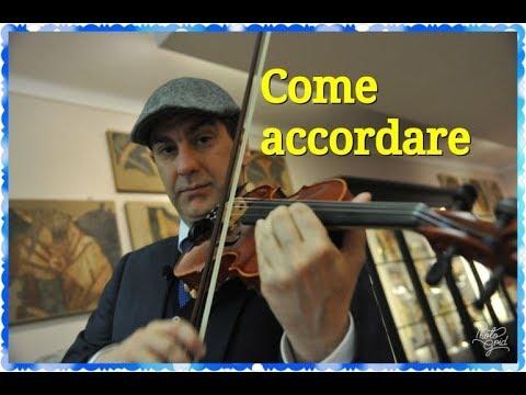 ACCORDARE IL VIOLINO - TUNE THE VIOLIN from YouTube · Duration:  2 minutes 36 seconds