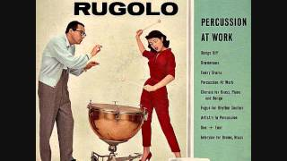 Pete Rugolo - Percussion at work (1958)  Full vinyl LP
