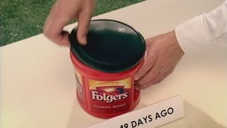Folgers Coffee commercial