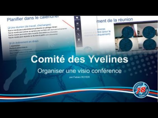 CDHBY - Visio conférence - Comment faire une visio conférence