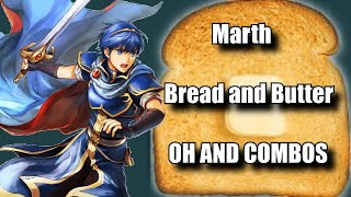 Marth,Bread And Butter Combos From Beginner To Godlike Buttery Toast [ Super Smash bros Ultimate ]