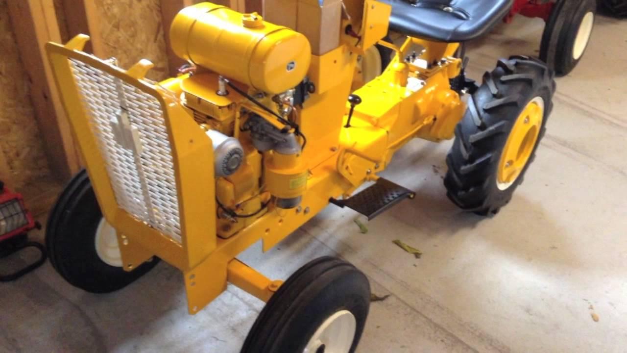12 Cub Cadet Tractor Restoration Engine First Start
