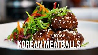 Korean Beef Meatballs  The Most Amazing Recipe