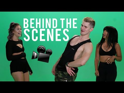 ON SET WITH THE FITNESS MARSHALL (NEVER BEFORE SEEN DANCES)
