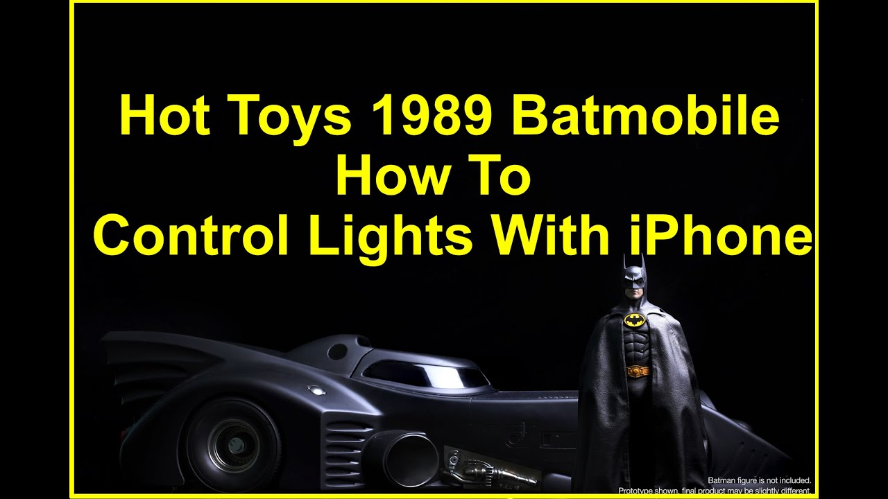 Hot Toys 1989 Batmobile - How To Control Lights With ...