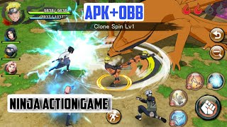 Naruto X Boruto Ninja Voltage Android | Apk+Obb | Best Android RPG Game
