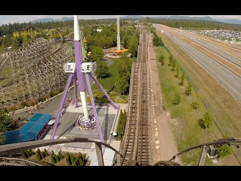 Timber Terror (Front Seat HD POV) - Silverwood Theme Park