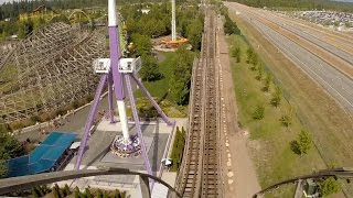 Gambar cover Timber Terror (Front Seat HD POV) - Silverwood Theme Park