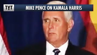 Mike Pence's HILARIOUS Attack on Kamala Harris