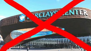 the Barclay Center sucks!
