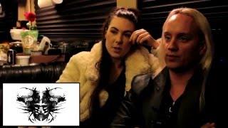 Rockblot #021: Rorschach Inkblot Test with Amaranthe vocalist Elize Ryd and guitarist Olof Mörck