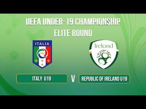 U19 Highlights: Italy 0-2 Republic of Ireland