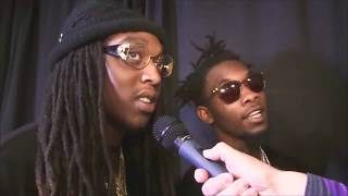 MIGOS - saying their really names ( young rich n**GS)
