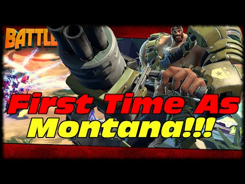 Miko & Montana Are Unstoppable! TF2 Heavy Medic Combo! Battleborn First Time As Montana Live!