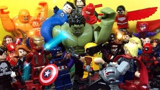 Lego Avengers vs The Hulk