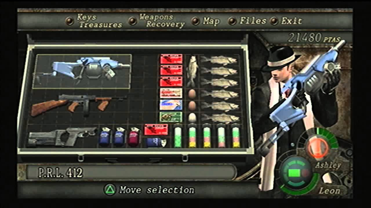 Resident Evil: 4 HD Special Weapons & Outfits - YouTube