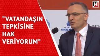 """BAKAN AĞBAL: """"VATANDAŞIN TEPKİSİNE HAK VERİYORUM"""""""