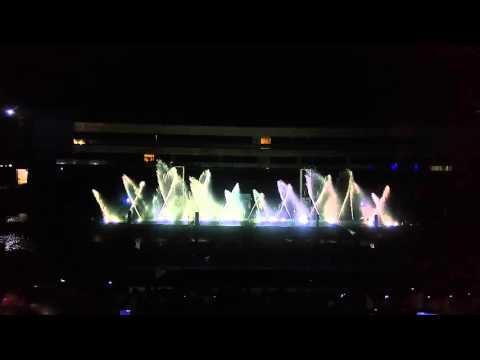 Musical Fountain Show (My Heart Will Go On) @Manila Ocean Park