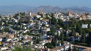 Альгамбра  Гранада  Испания(, 2016-09-06T18:55:08.000Z)