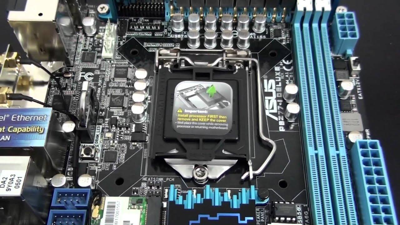 Asus P8Z77-I DELUXE/WD PC Diagnostics Drivers PC