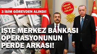Merkez Bankası'nda Görev Değişikliğinin Perde Arkası | Dolar