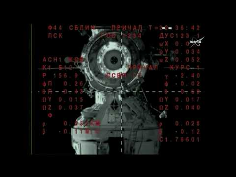 Soyuz MS-08 Arrival and Docking at the International Space Station