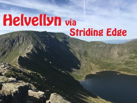 Helvellyn via Striding Edge | Summit Cheese Board | Lake District National Park | Booze !