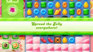 Candy Crush Jelly Saga Level 1156 (3 stars, No boosters)