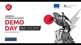 Armenia Startup Academy Batch 5 Demo Day