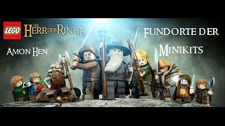 Lego Herr der Ringe: Minikit Guide - Amon Hen