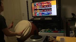 (ネタ)お家太鼓で自作譜面のELECTRICAL COMMUNICATIONをプレイ thumbnail