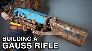 fallout 4 building a gauss rifle replica the last minute