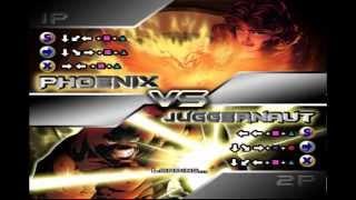 X-men Mutant Academy 2 Phoenix Arcade