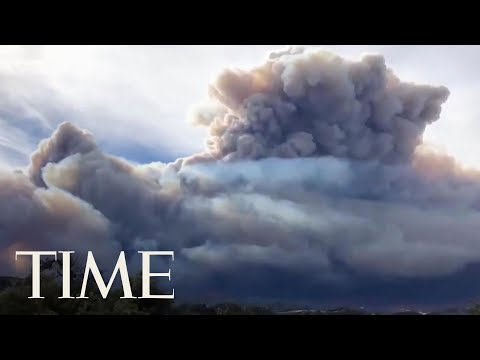 Celebrities Flee California Community As Ash Falls Like Snow: See Timelapse Of The Wildfires   TIME