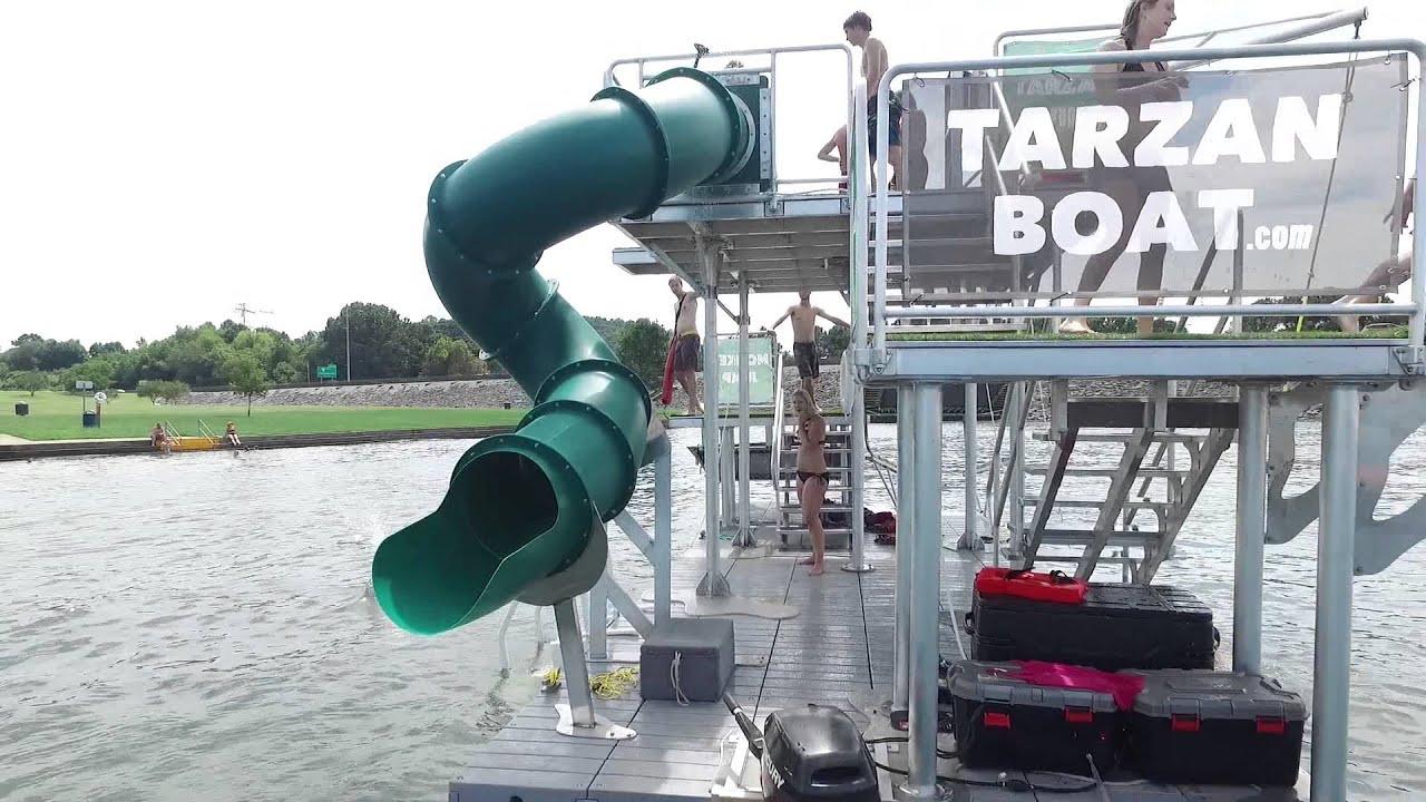 Jungle Float mobile floating water park