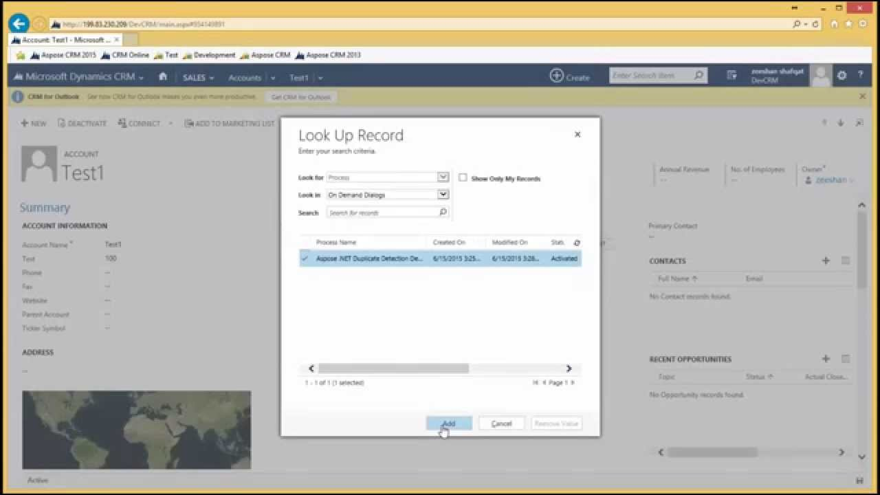 Duplicate Detection for Dynamics CRM - Aspose Words for  NET