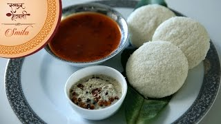 how to make soft idli   homemade idli batter   south indian breakfast   recipe by smita in marathi