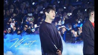 190316  Green Nature EXO Fan Festival - Wait (EXO 찬열 CHANYEOL Focus)