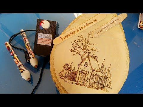 photo & Image transfer print on wood from epson inkjet printer for Pyrography art and craft