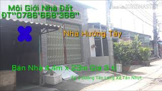 Bán Nhà Đất Xã Tân Nhựt Huyện Bình Chánh ĐT''0786'668'368''