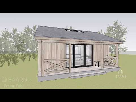 BAARN Prairie Cabin – explore this kit house