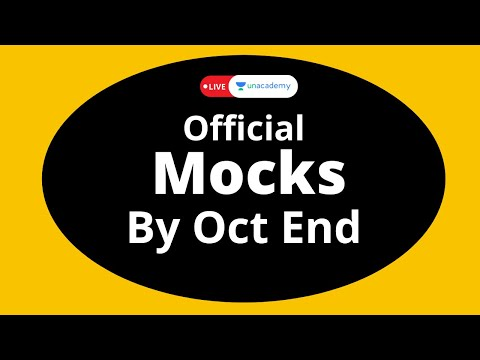 Official Mock by Oct End - IIM Indore | CAT 2020 New Pattern | Notification | LIVE on Unacademy