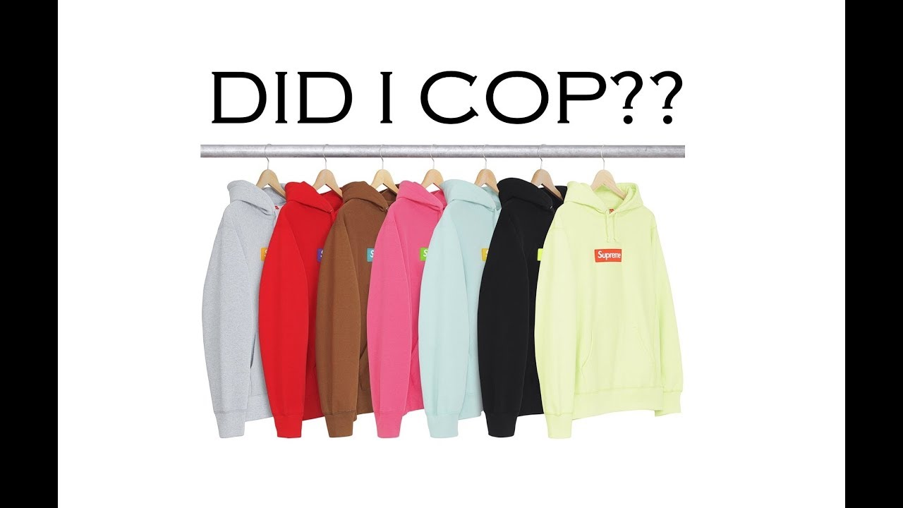 How To Cop The Supreme Box Logo Hoos For Retail Online