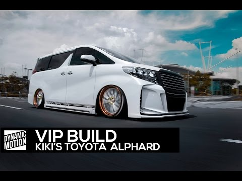 Kiki s VIP SilkBlaze Alphard ft. Vossen X Work pt.1 Dynamic Motion Media