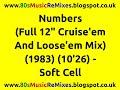 Miniature de la vidéo de la chanson Numbers (The Full 12″ Cruise 'em And Loose 'em Mix)